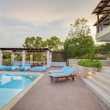 Ekskluzīva villa, sešas guļamistabas, privāts baseins, skats uz jūru - Privātais baseins