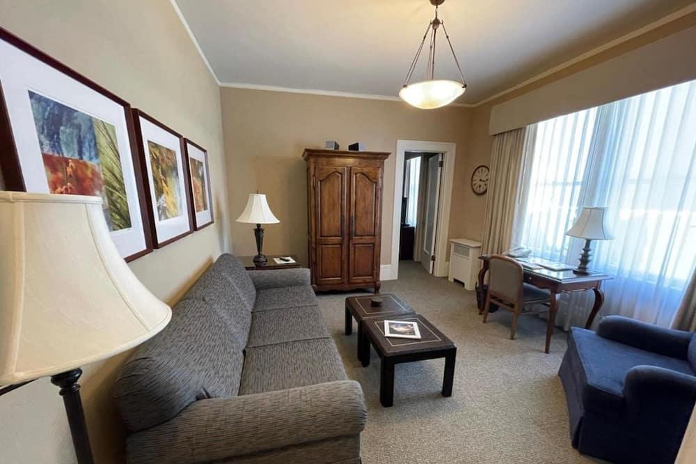 ซิกเนเจอร์คอนโด, 1 ห้องนอน - ห้องนั่งเล่น