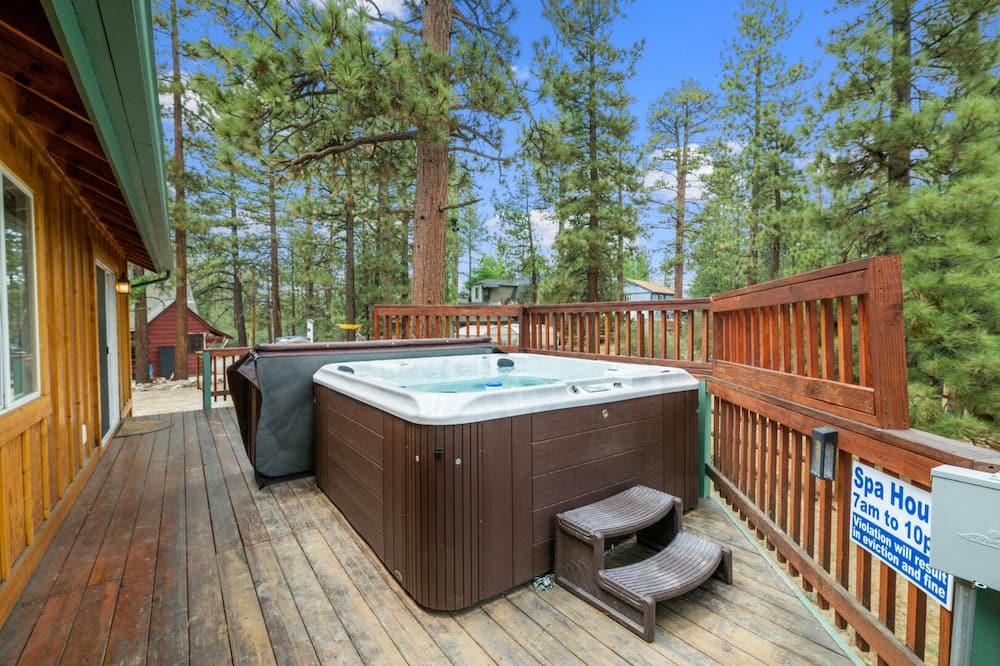 Ferienhütte, 3Schlafzimmer - Privater Whirlpool