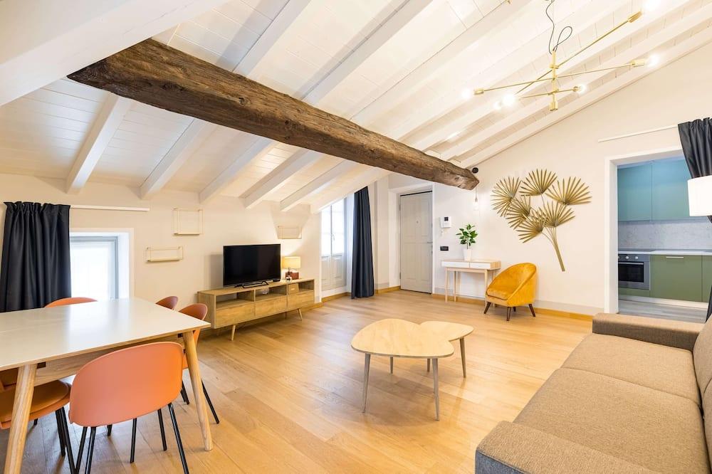 Appartement Classique (UNITA 9) - Coin séjour