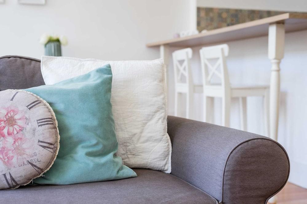 Апартаменты базового типа, 1 двуспальная кровать с диваном-кроватью - Гостиная