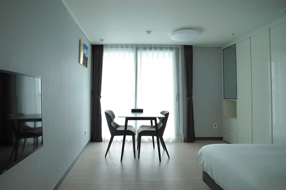 디럭스룸, 더블침대 1개 - 거실 공간