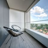 City Apartment, 1 Bedroom, Partial Sea View, Tower - Balcony