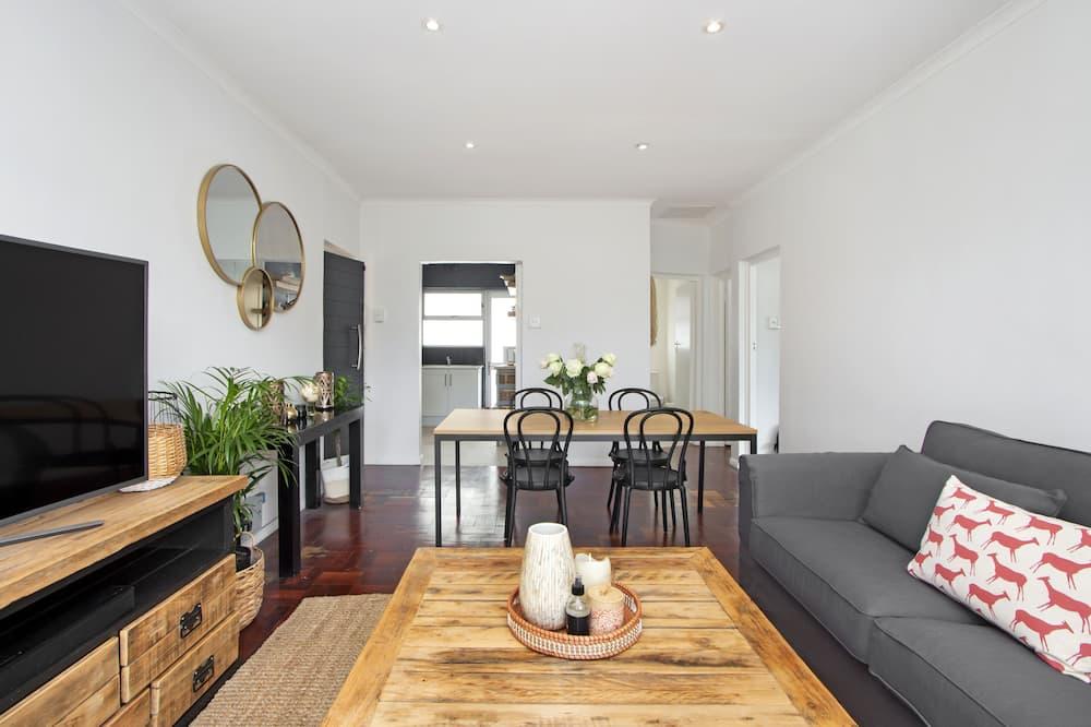 City-Apartment - Wohnbereich