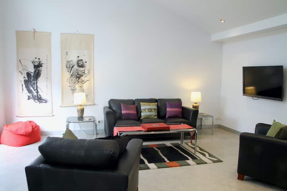 Дизайнерский дом - Гостиная