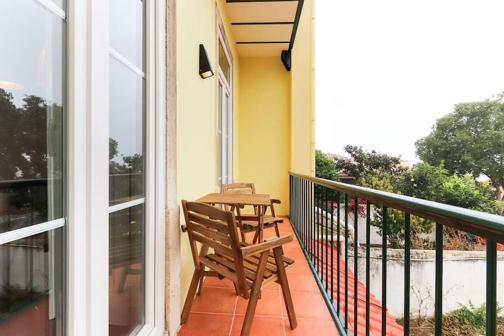 Apartament podstawowy, Łóżko podwójne i sofa - Balkon