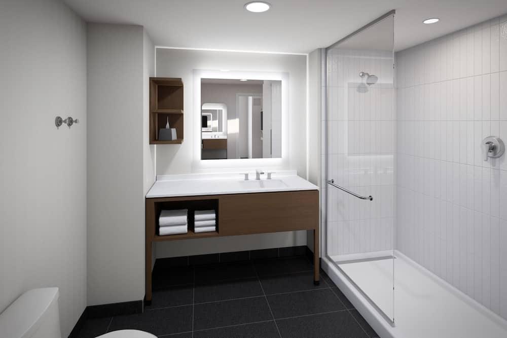スイート 1 ベッドルーム 禁煙 キッチン - バスルーム