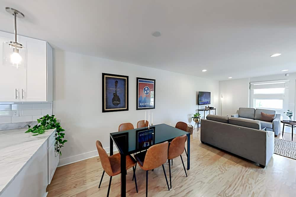 وحدة سكنية متصلة - عدة غرف نوم - غرفة معيشة