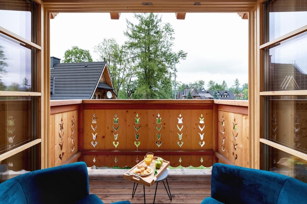 Dom, 6 sypialni, sauna, w górach - Balkon