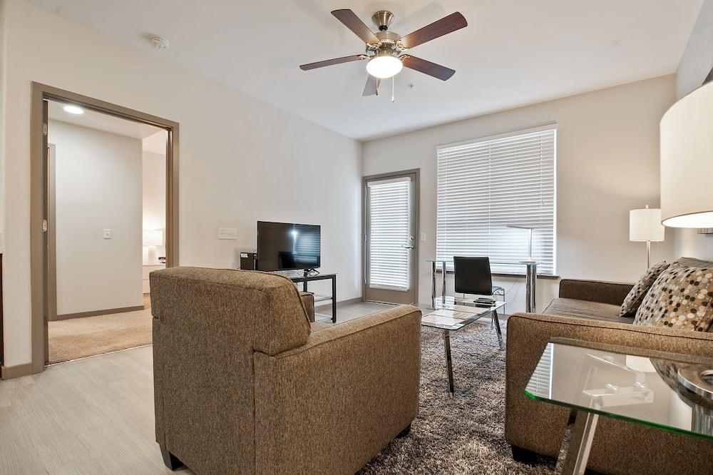 奢華公寓, 2 間臥室 - 客廳