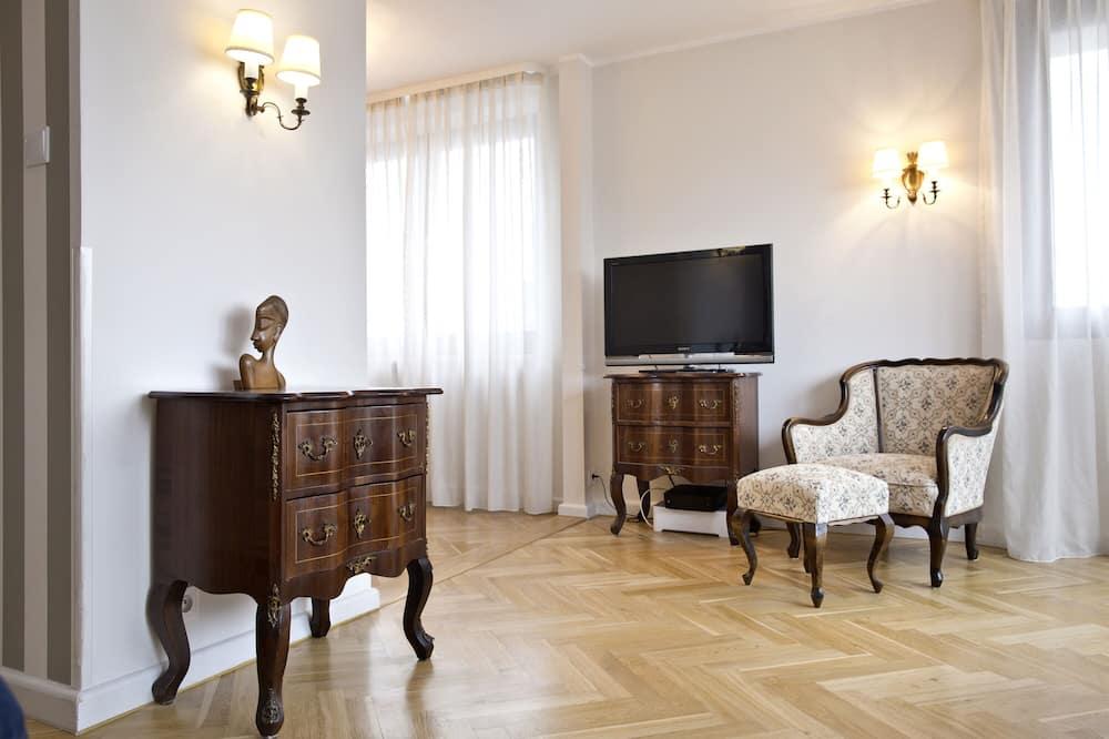 Paaugstināta komforta dzīvokļnumurs - Dzīvojamā istaba