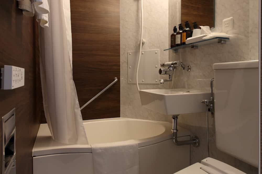 Basic szoba kétszemélyes ággyal, nemdohányzó (ECO plan - No cleaning service) - Fürdőszoba