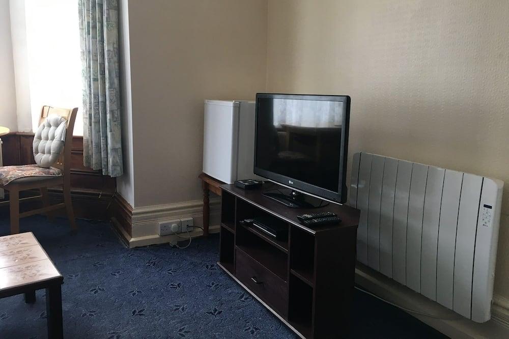 Apartment, 1 Queen-Bett - Wohnzimmer