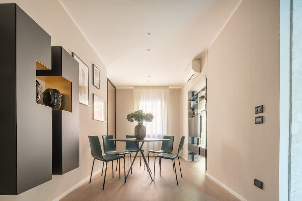 Dizaina dzīvokļnumurs - Dzīvojamā zona