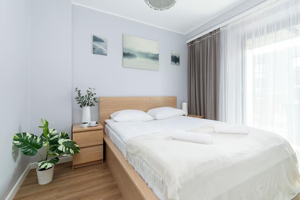 דירה, חדר שינה אחד, מרפסת - תמונה