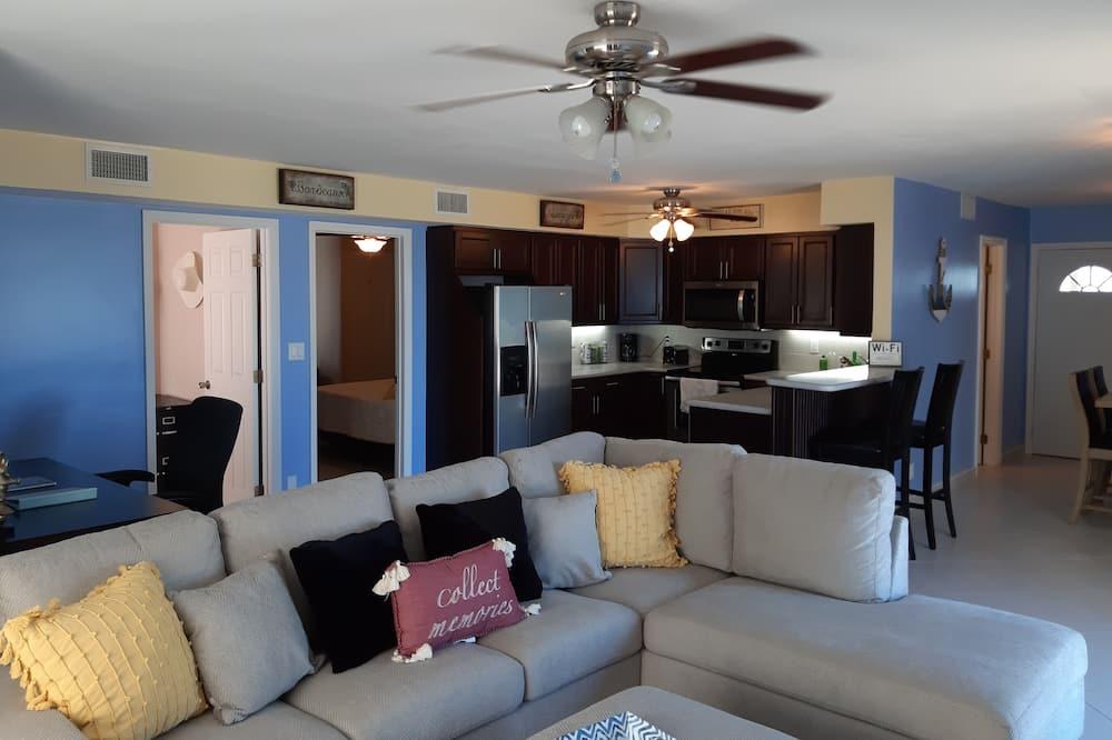 Panoramic Apartment - Ruang Tamu