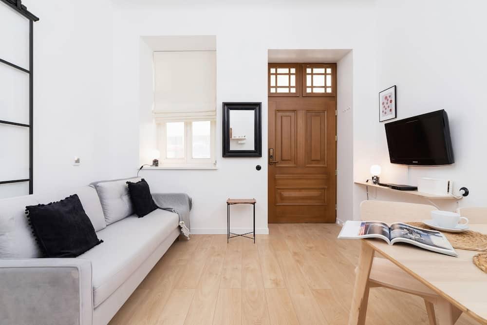 Apartment, 1 Bedroom, Kitchen - Bathroom