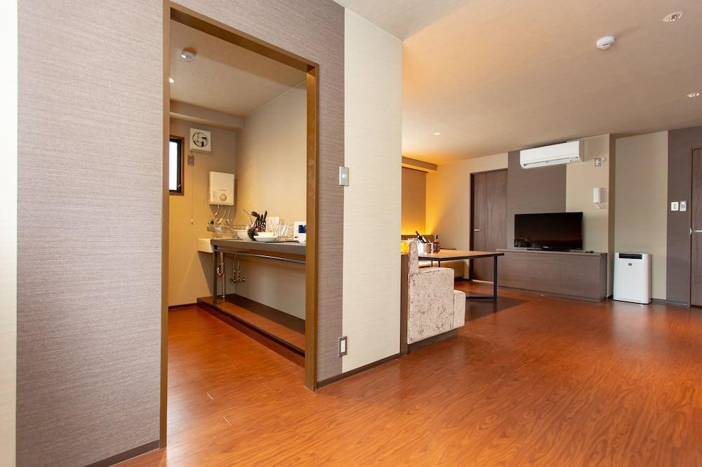 Deluxe Apartment, Non Smoking - Living Area