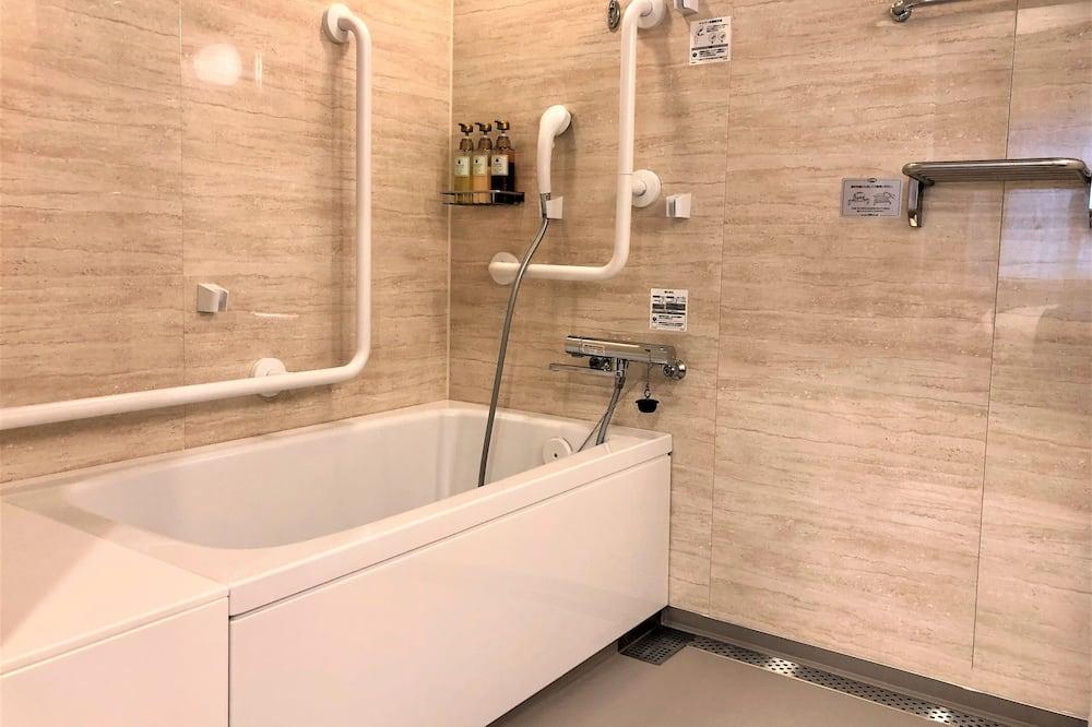 ダブルルーム バリアフリー 禁煙 - バスルーム