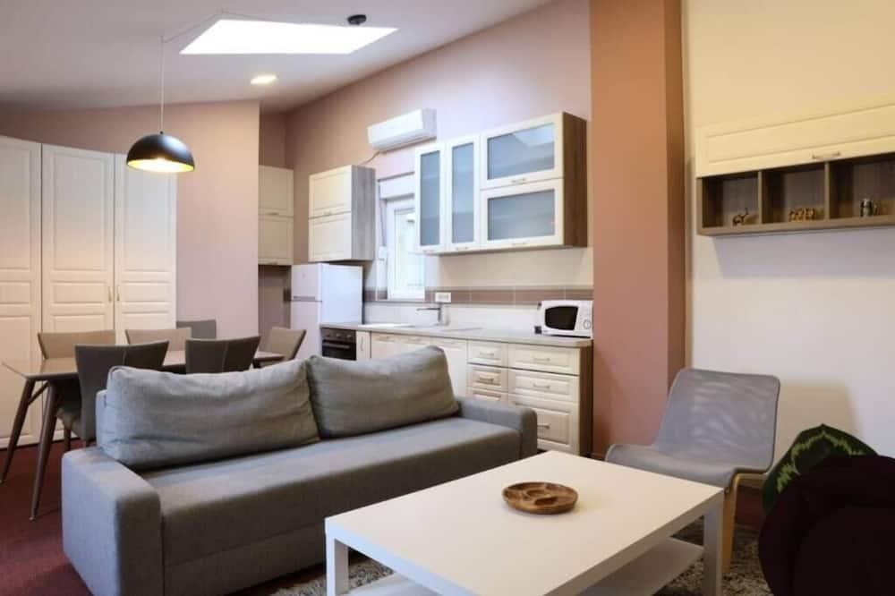 Apartament rodzinny - Powierzchnia mieszkalna