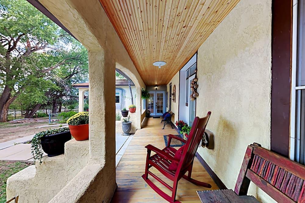 Ferienhaus, 1 Schlafzimmer - Balkon