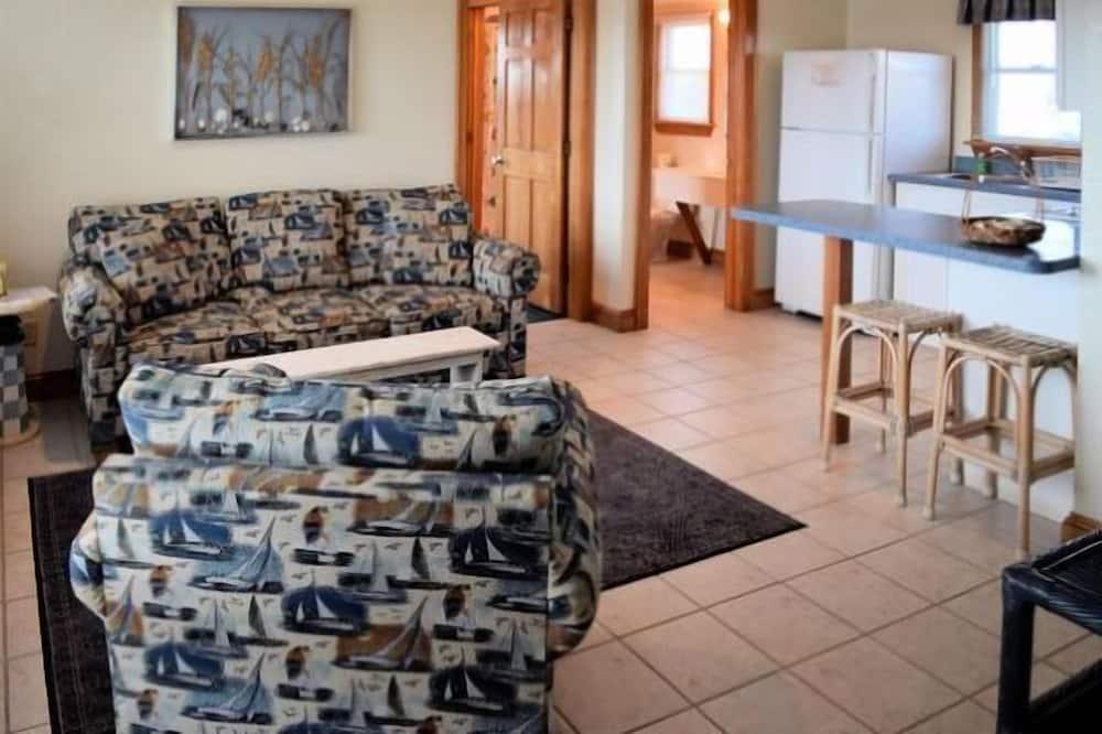 Doppelzimmer, 1Queen-Bett und Schlafsofa - Wohnbereich