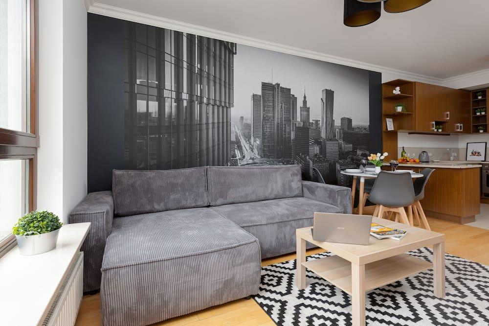 Departamento, 1 habitación, balcón - Imagen destacada