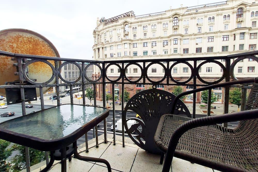 Standaard kamer, 1 twee- of 2 eenpersoonsbedden - Uitzicht vanaf balkon
