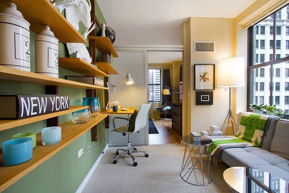 Appartamento Signature, 2 camere da letto, cucina - Area soggiorno