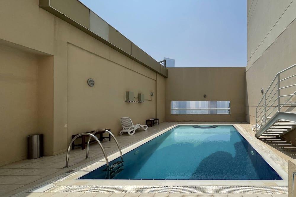 Lägenhet Basic - 1 kingsize-säng - Pool