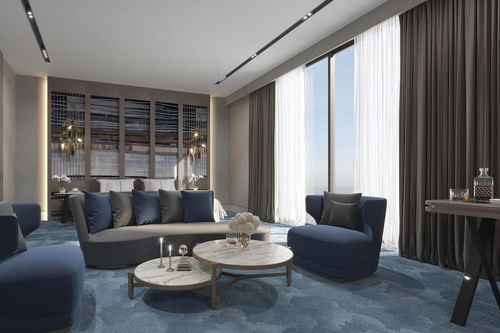 Suite, 1 cama King size (Living Area) - Sala de estar