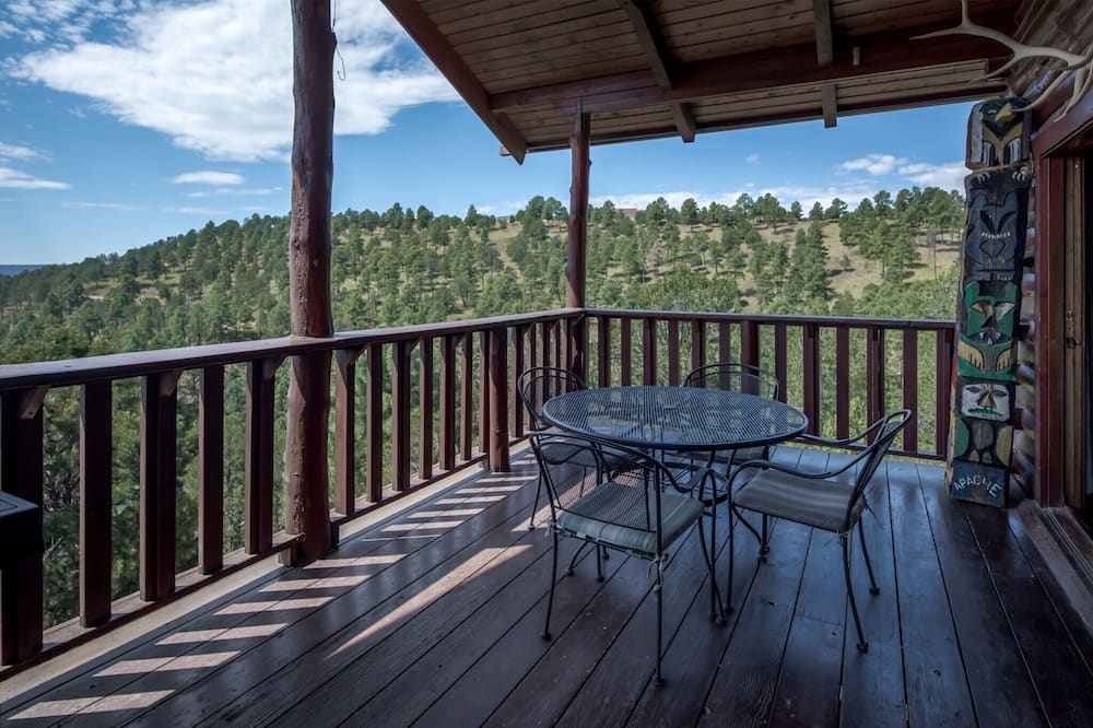 Cabin, Multiple Beds, Private Pool, Mountain View - Balcony