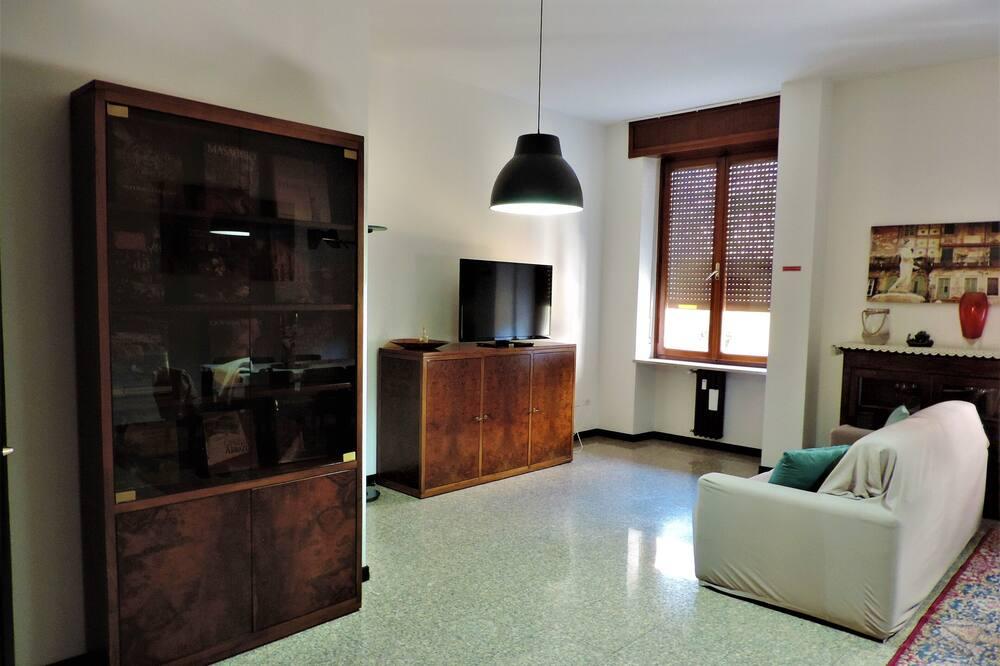 Superior szoba (Private External Bathroom) - Nappali