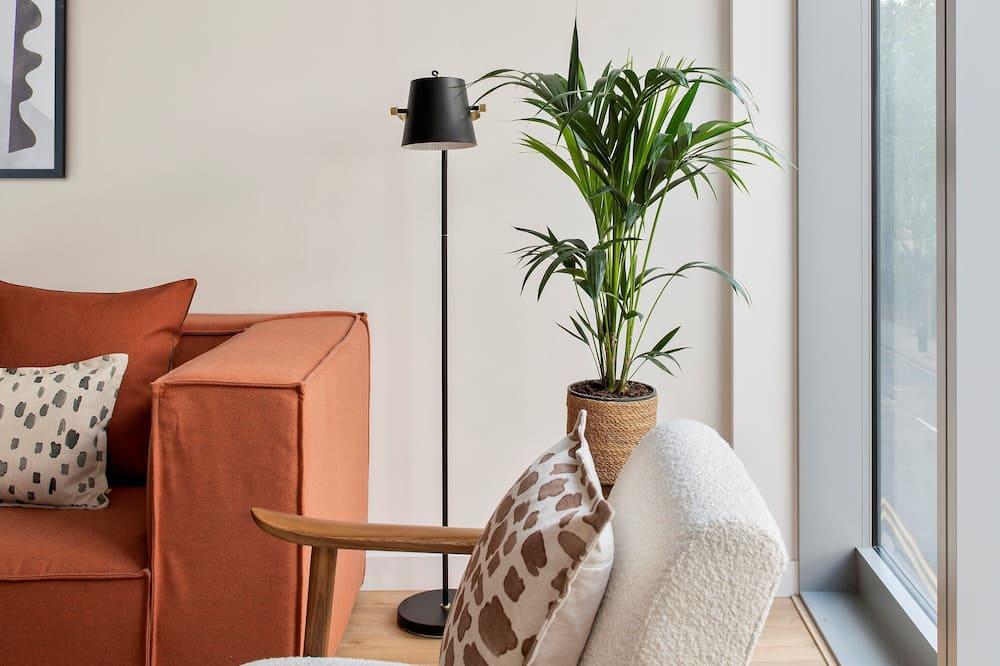 One Bedroom Apartment Plus - Living Area