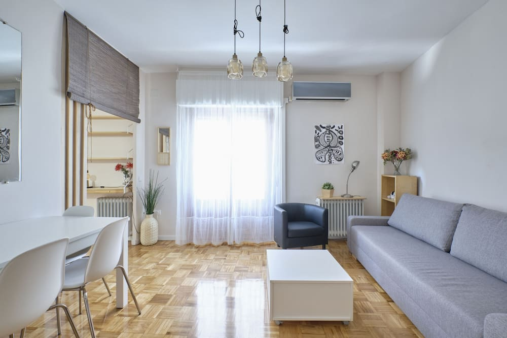 3 Bedroom Apartment With Garage Space in the Center of Madrid