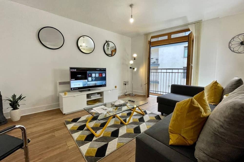 Διαμέρισμα, 1 Queen Κρεβάτι με Καναπέ-Κρεβάτι - Καθιστικό