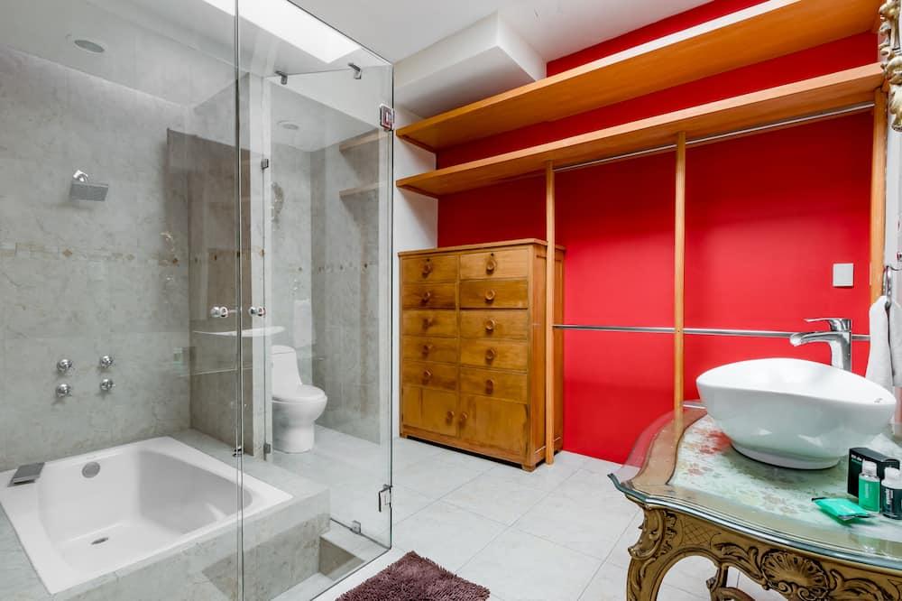 高級雙人房 - 浴室