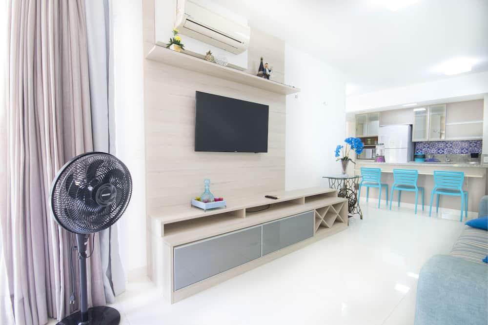 Familieværelse til 4 personer - Opholdsområde