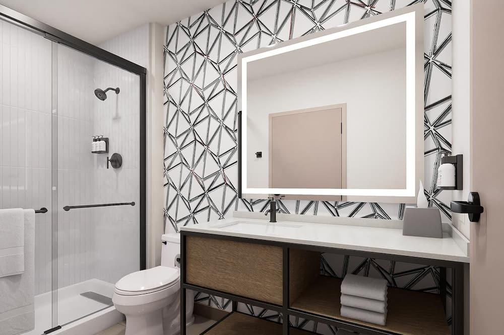 Room, 1 Bedroom, Accessible, Non Smoking (Roll-In Shower) - Bathroom