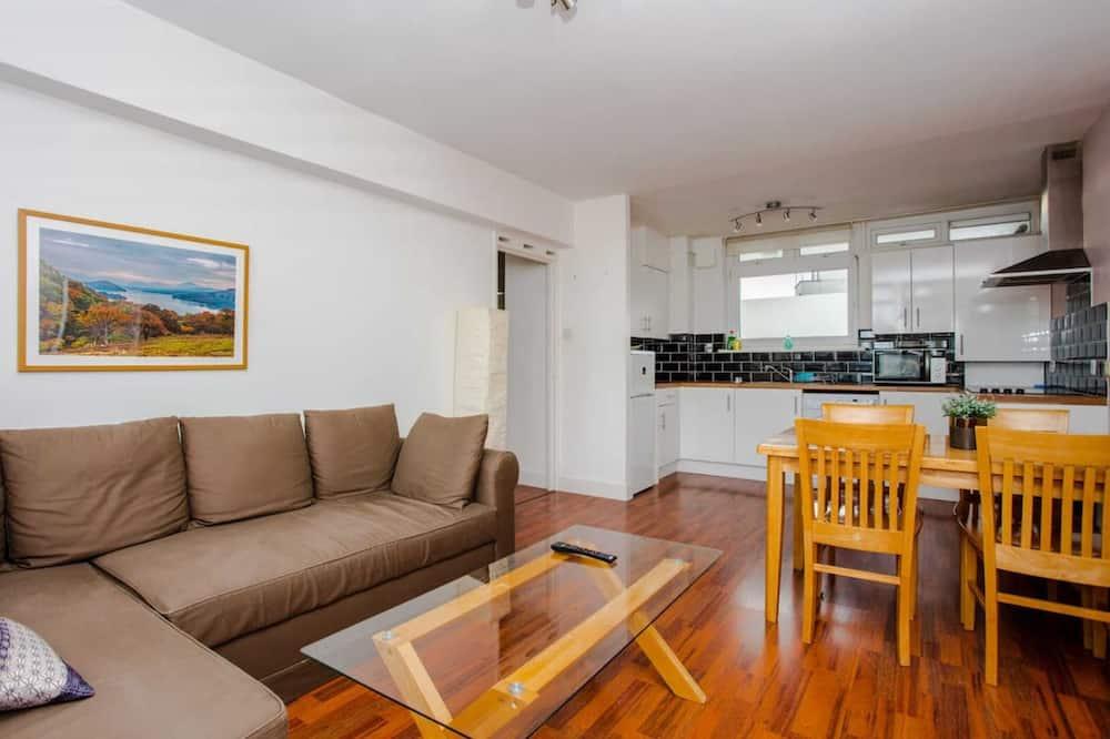 Basic-Apartment, 1King-Bett und Schlafsofa - Wohnzimmer