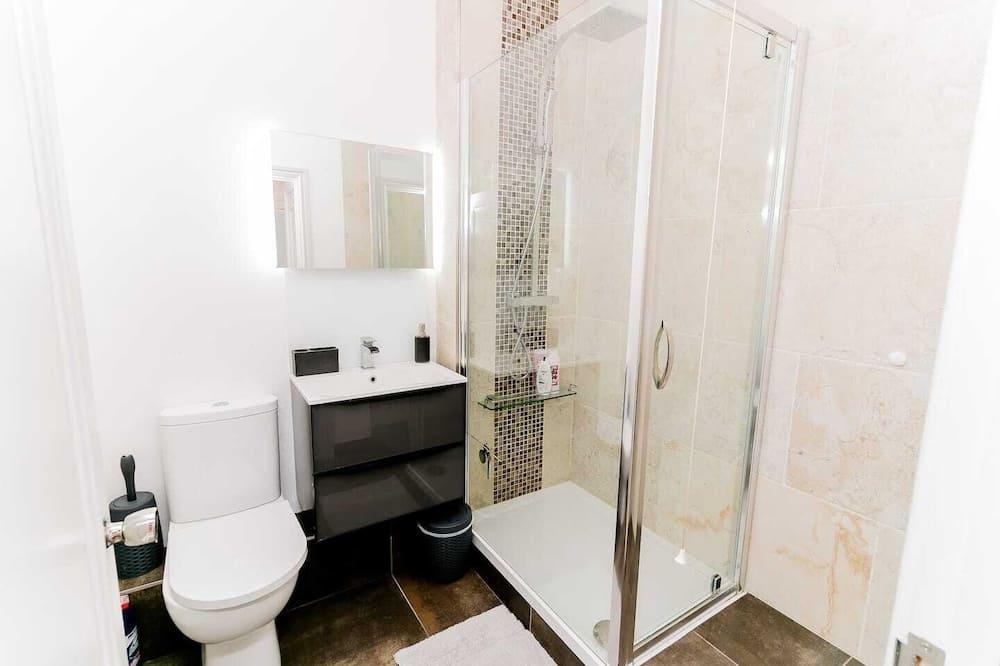 Superior apartman, privát fürdőszoba, kilátással a kikötőre (Pottergate) - Fürdőszoba