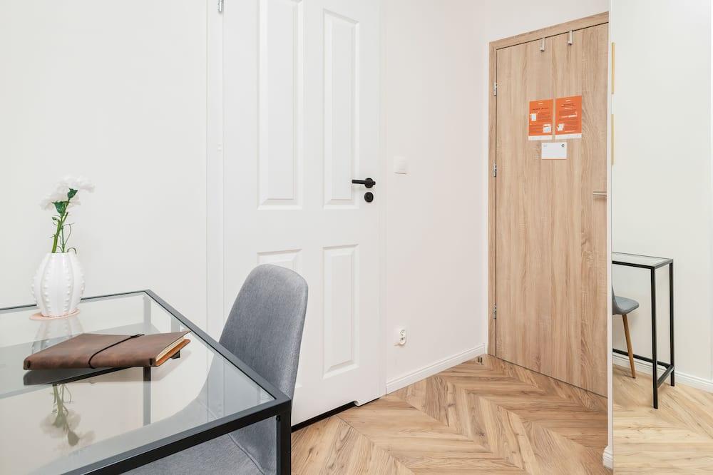 Apartament, 1 sypialnia, kuchnia - Powierzchnia mieszkalna
