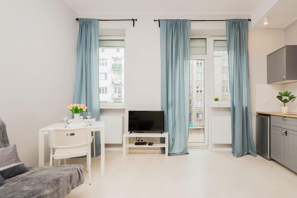 Studio, kuchnia - Powierzchnia mieszkalna