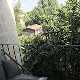Suite Deluxe, salle de bains privée, vue jardin (Bleu Klein) - Vue depuis le balcon