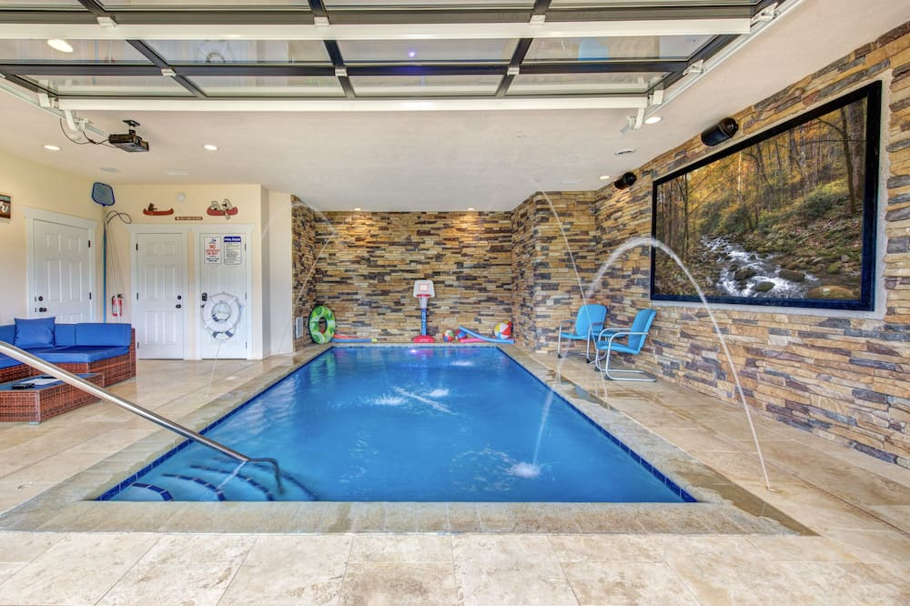 Hytte (Splashtastic View Lodge) - Pool