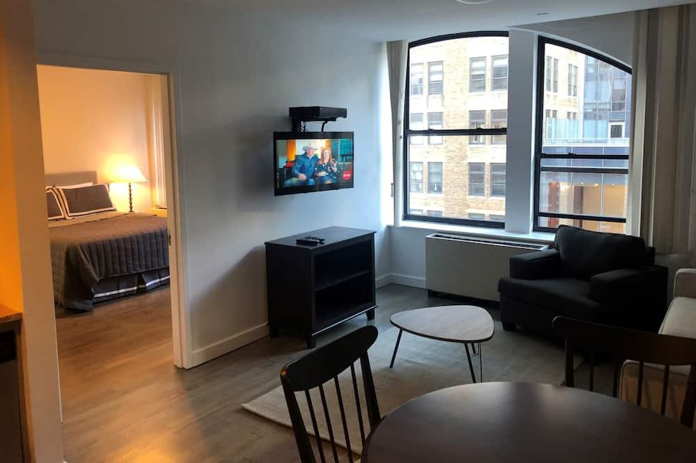 Apartmán, 2 spálne, nefajčiarska izba, kuchyňa - Obývacie priestory