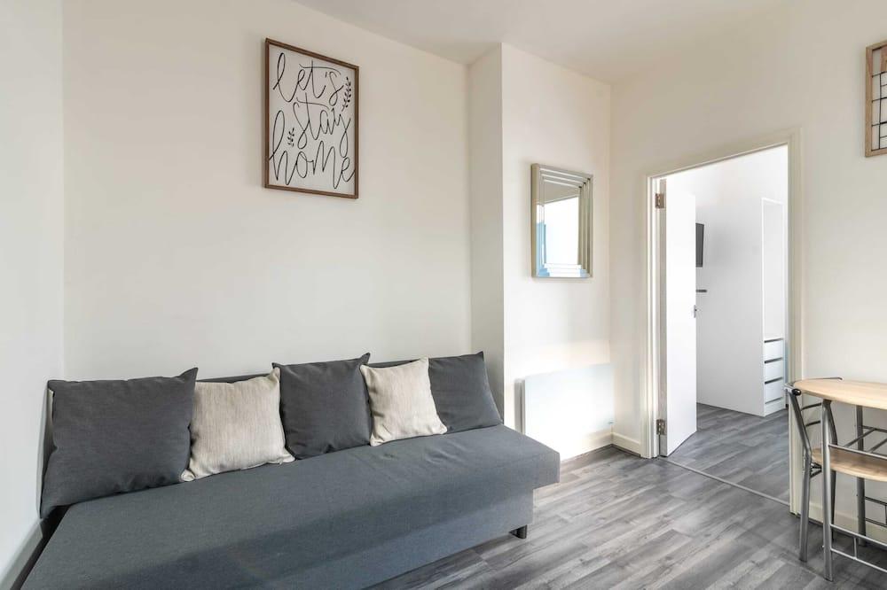 Apartmán typu Basic, dvojlůžko a rozkládací pohovka - Obývací pokoj