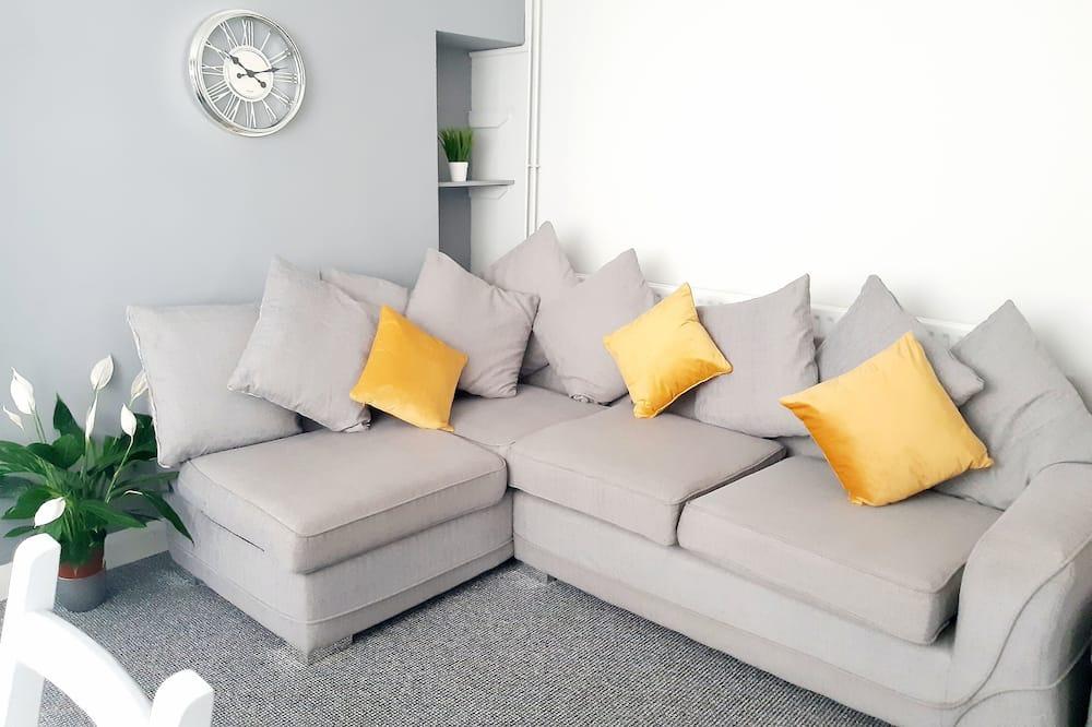 Casa de ciudad familiar - Sala de estar
