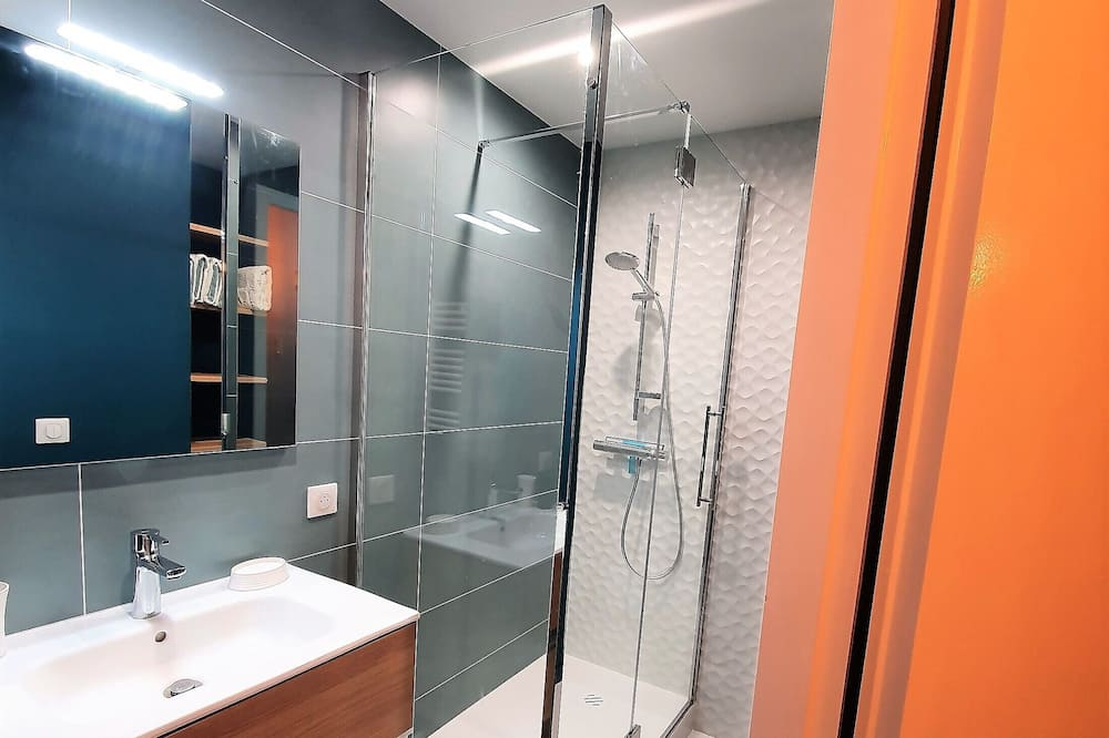 Appartement Confort, vue montagne - Salle de bain