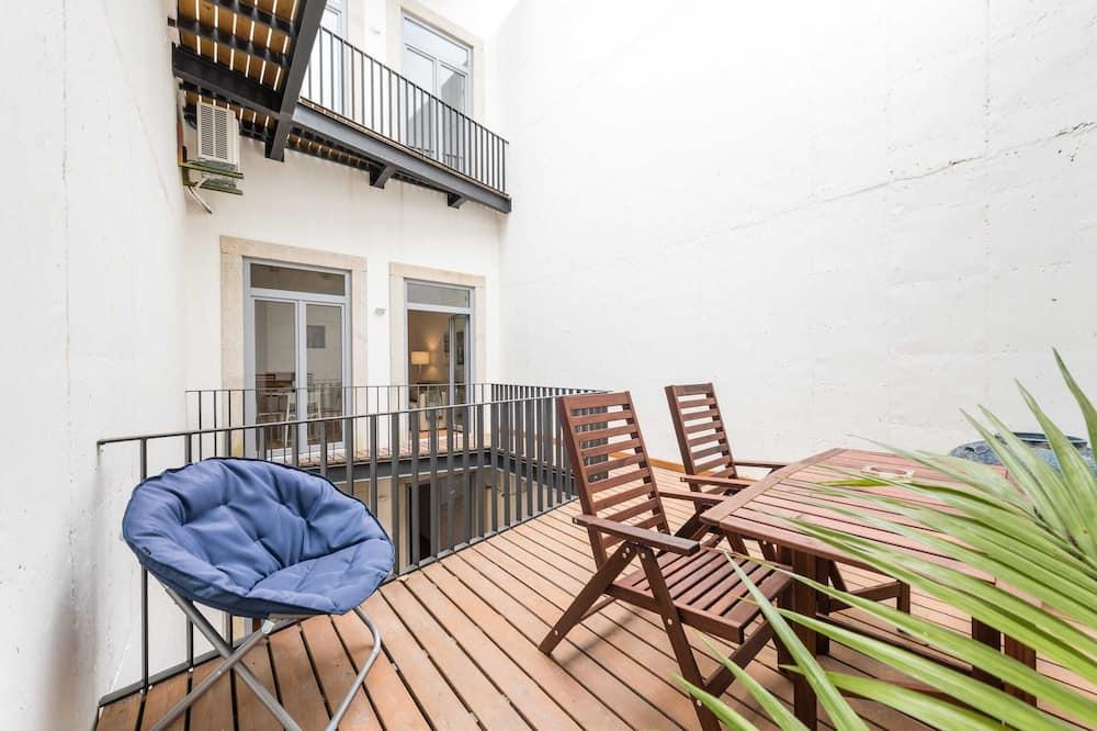 Appartement, 1 lit double - Balcon